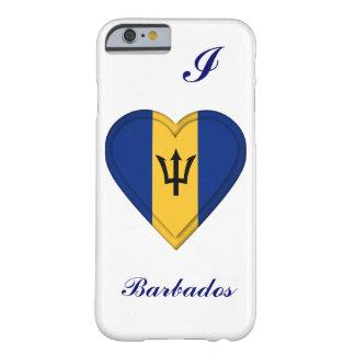 Bandera de Barbados Funda De iPhone 6 Barely There