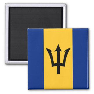 Bandera de Barbados Imán Cuadrado