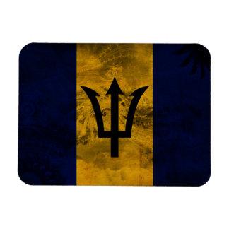Bandera de Barbados Imán Foto Rectangular