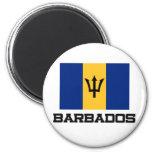 Bandera de Barbados Imanes