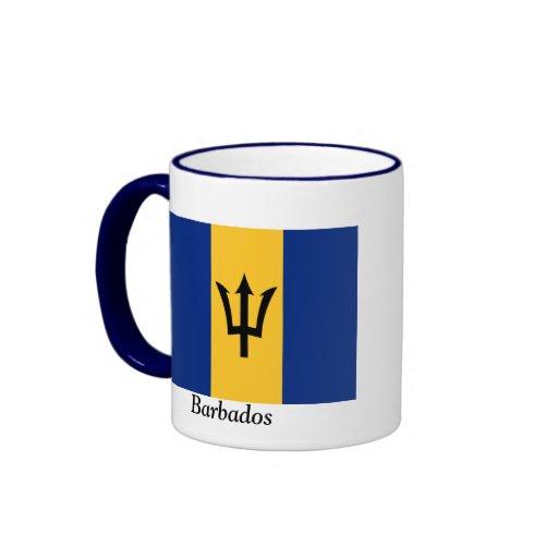 Bandera de Barbados Taza De Dos Colores