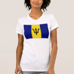 Bandera de Barbados Tee Shirts