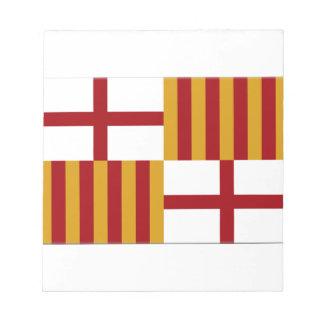 Bandera de Barcelona (España) Bloc
