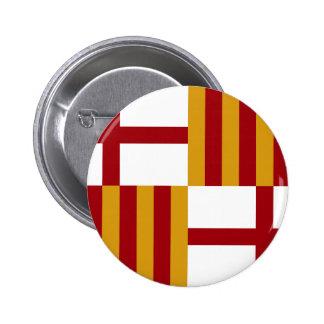 Bandera de Barcelona (España) Pin