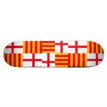 Bandera de Barcelona Tabla De Skate