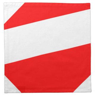 Bandera de Barotseland Servilleta De Papel