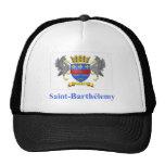 Bandera de Barthelemy del santo con nombre en fran Gorro