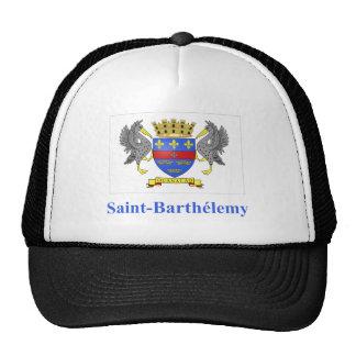 Bandera de Barthelemy del santo con nombre en Gorro