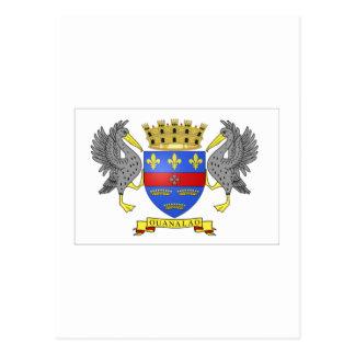 Bandera de Barthelemy del santo Postales