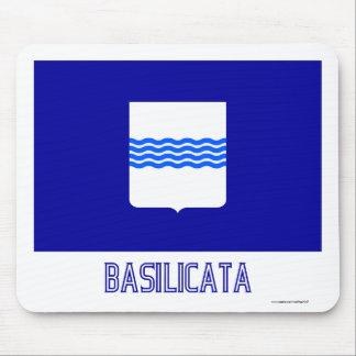 Bandera de Basilicata con nombre Tapetes De Raton