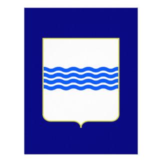Bandera de Basilicata (Italia) Membrete