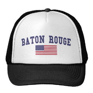 Bandera de Baton Rouge los E.E.U.U. Gorro