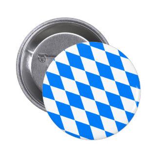 Bandera de Baviera de Alemania Pin Redondo De 2 Pulgadas
