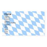 Bandera de Baviera de Alemania Tarjetas De Negocios