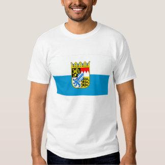 Bandera de Baviera/de Baviera con los brazos Poleras