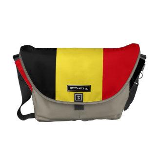 Bandera de Bélgica Bolsa De Mensajeria