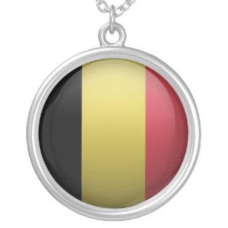 Bandera de Bélgica Colgante Redondo