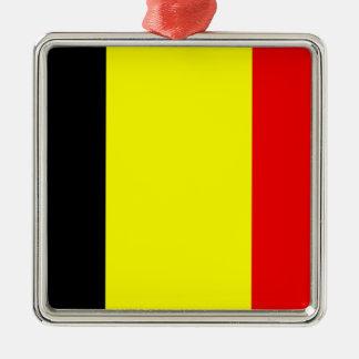 Bandera de Bélgica Ornamentos De Navidad