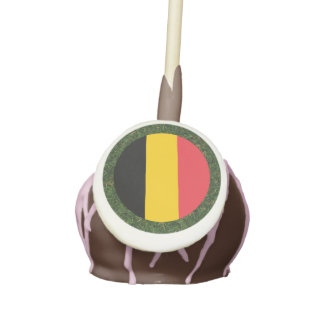 Bandera de Bélgica en hierba