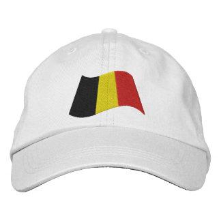 Bandera de Bélgica Gorras De Beisbol Bordadas