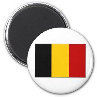 Bandera de Bélgica Imán Redondo 5 Cm