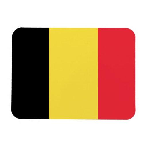 Bandera de Bélgica Iman Flexible