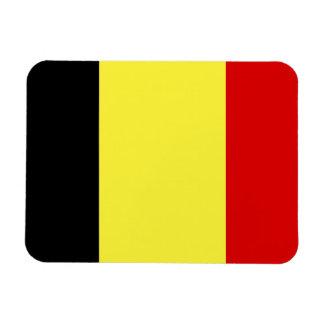 Bandera de Bélgica Iman Rectangular