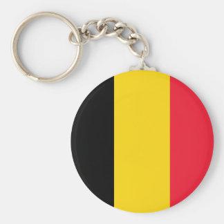 Bandera de Bélgica Llaveros Personalizados