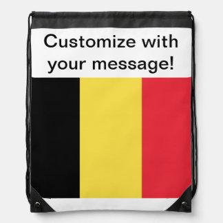 Bandera de Bélgica Mochilas