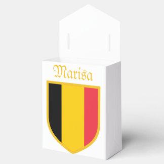 Bandera de Bélgica personal Cajas Para Regalos De Fiestas