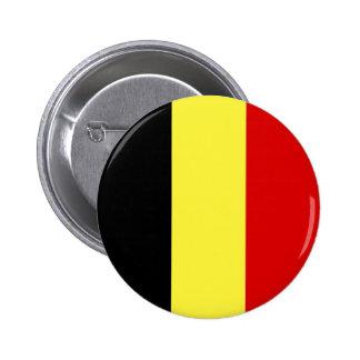 Bandera de Bélgica Pin Redondo De 2 Pulgadas