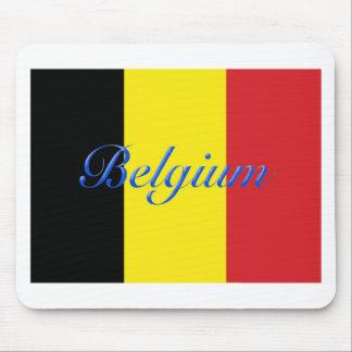 Bandera de Bélgica Tapete De Ratones
