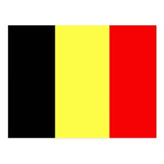 Bandera de Bélgica Tarjeta Postal