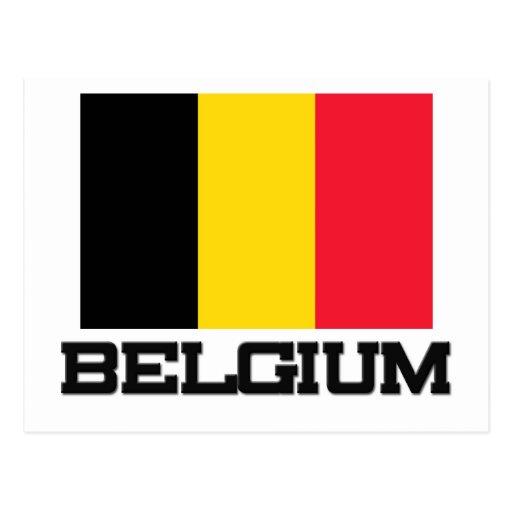 Bandera de Bélgica Tarjetas Postales