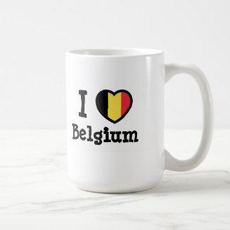 Bandera de Bélgica Tazas