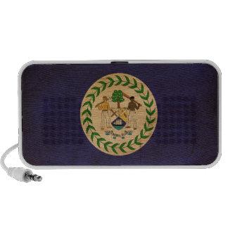Bandera de Belice Notebook Altavoces