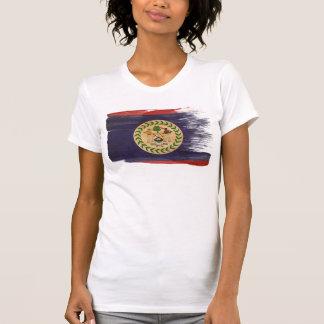 Bandera de Belice Camiseta