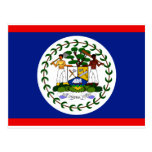 Bandera de Belice Tarjetas Postales