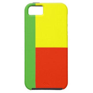 Bandera de Benin iPhone 5 Case-Mate Carcasa