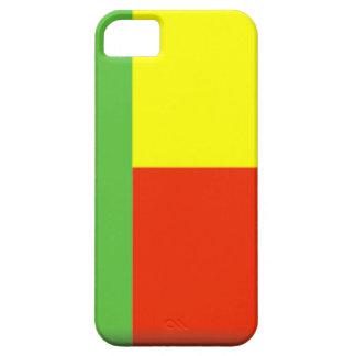 Bandera de Benin iPhone 5 Case-Mate Cárcasas