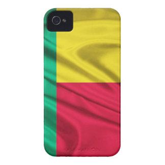 Bandera de Benin iPhone 4 Case-Mate Fundas
