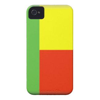 Bandera de Benin iPhone 4 Carcasa