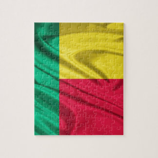 Bandera de Benin Rompecabezas Con Fotos