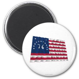 Bandera de Bennington Imanes Para Frigoríficos