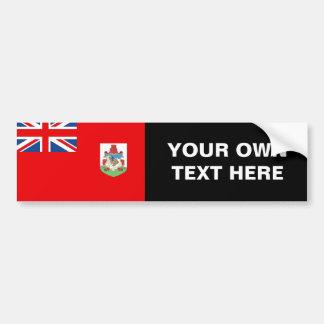 Bandera de Bermudas Pegatina De Parachoque