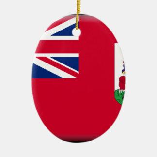 Bandera de Bermudas Ornamento Para Arbol De Navidad