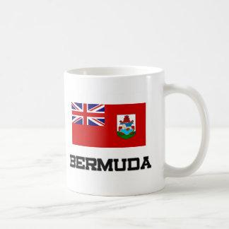 Bandera de Bermudas Tazas De Café
