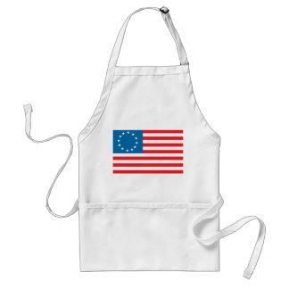 Bandera de Betsy Ross Delantal