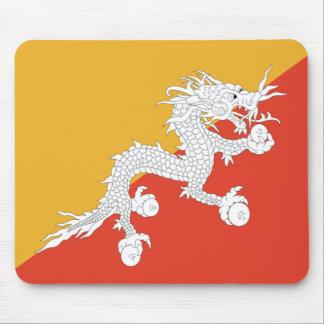 Bandera de Bhután Alfombrillas De Ratones
