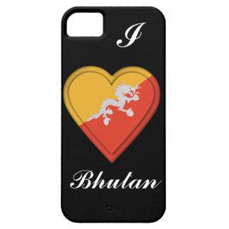 Bandera de Bhután iPhone 5 Funda